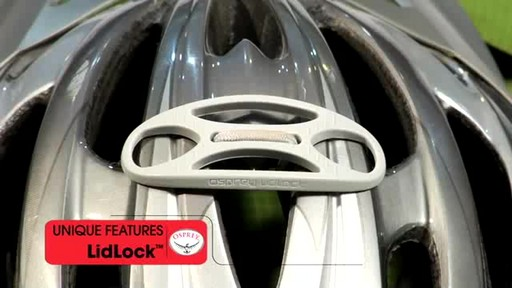 Osprey LidLock Helmet Attachment - image 9 from the video