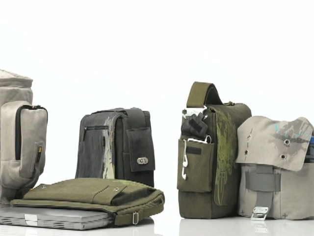 Case Logic Campus Canvas Bags - image 2 from the video