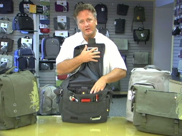 Case Logic Campus Canvas Bags - image 7 from the video