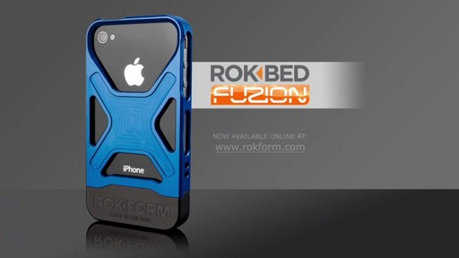 Rokform Rokbed Fuzion for iPhone 4 & 4S - image 9 from the video