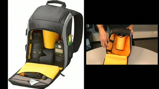 Case Logic SLR Camera Backpack - image 4 from the video