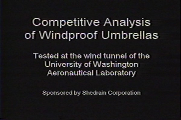 ShedRain - Competitive Analysis of Windproof Umbrellas - image 1 from the video