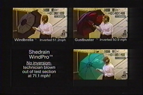 ShedRain - Competitive Analysis of Windproof Umbrellas - image 3 from the video
