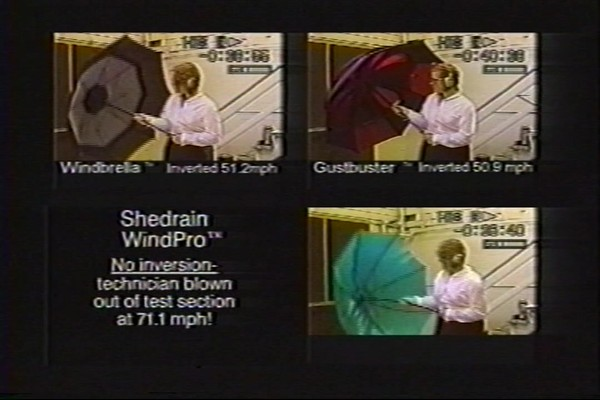 ShedRain - Competitive Analysis of Windproof Umbrellas - image 4 from the video