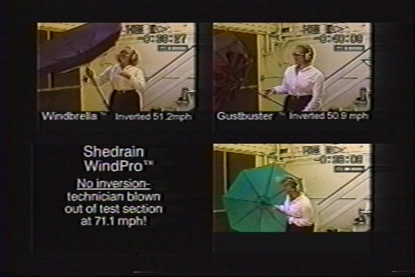 ShedRain - Competitive Analysis of Windproof Umbrellas - image 8 from the video