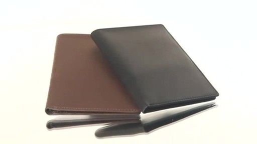 Royce Leather RFID Blocking Passport Currency Wallet  - image 1 from the video