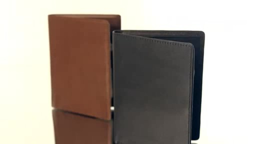 Royce Leather RFID Blocking Passport Currency Wallet  - image 10 from the video