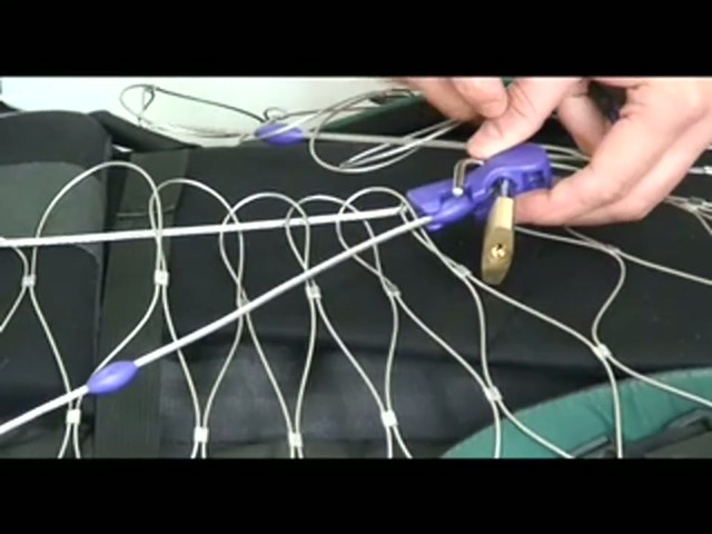 PacSafe Bag Protector Product Demo - image 5 from the video