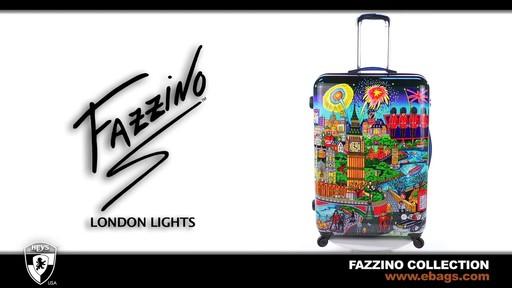 Fazzino by Heys USA London Lights - image 1 from the video