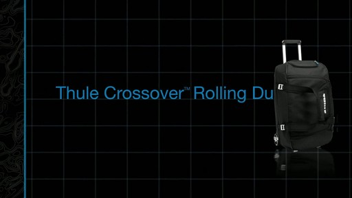 Thule Crossover 56 Liter Rolling Duffel Product Demo - image 1 from the video