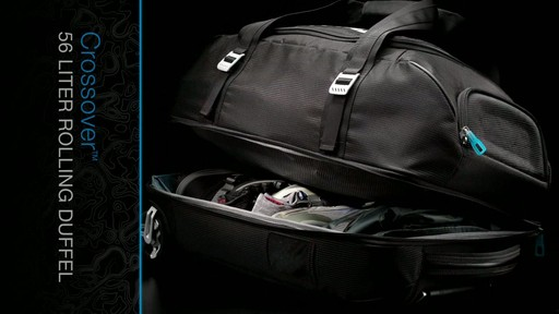 Thule Crossover 56 Liter Rolling Duffel Product Demo - image 7 from the video