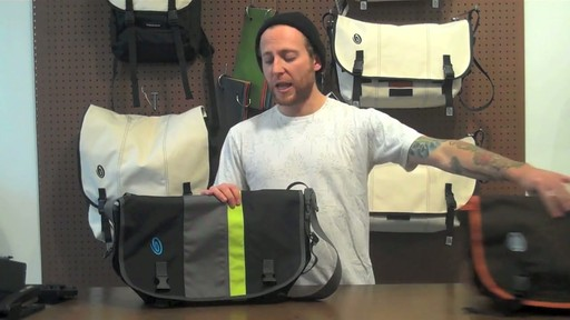 Timbuk2 D-lux Laptop Messenger Product Demo - image 1 from the video
