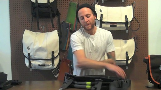 Timbuk2 D-lux Laptop Messenger Product Demo - image 10 from the video
