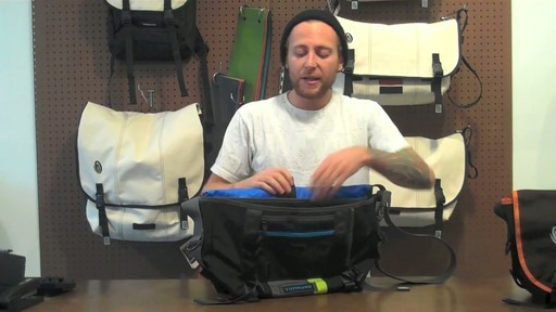 Timbuk2 D-lux Laptop Messenger Product Demo - image 7 from the video