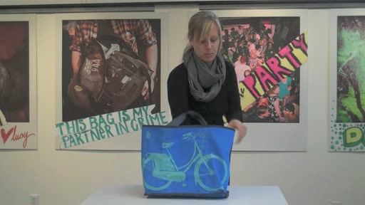 Timbuk2 Anna Reversible Tote Product Demo - image 9 from the video