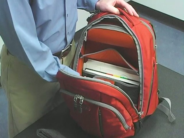 eBags TLS Workstation Laptop Backpack - image 2 from the video