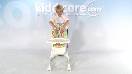 Fisher Price EZ clean Highchair - Kiddicare - image 1 from the video
