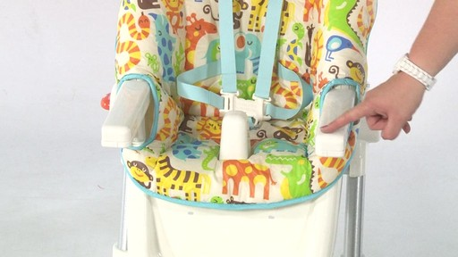 Fisher Price EZ clean Highchair - Kiddicare - image 10 from the video