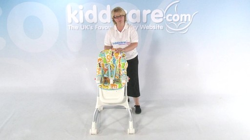 Fisher Price EZ clean Highchair - Kiddicare - image 6 from the video