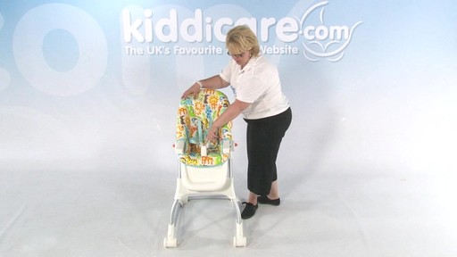 Fisher Price EZ clean Highchair - Kiddicare - image 7 from the video