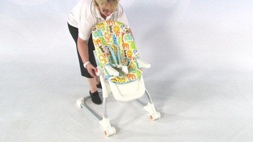 Fisher Price EZ clean Highchair - Kiddicare - image 8 from the video