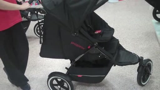 Phil and Teds Explore r- The New & Improved Sport Buggy - Black/Black - image 1 from the video