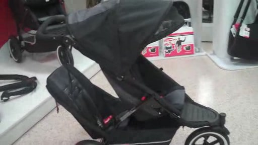 Phil and Teds Explore r- The New & Improved Sport Buggy - Black/Black - image 10 from the video