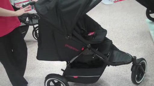 Phil and Teds Explore r- The New & Improved Sport Buggy - Black/Black - image 2 from the video