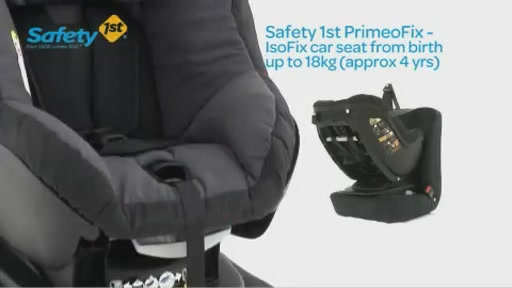 Dorel Safety 1st PrimeoFix Car Seat - Kiddicare - image 1 from the video