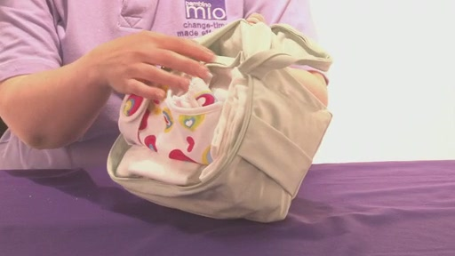 Bambino Mio Wet Nappy Bag - Kiddicare - image 7 from the video