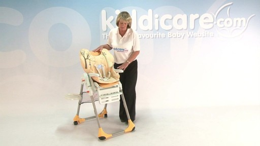 chicco polly highchair - Kiddicare - image 10 from the video