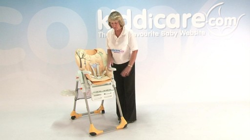 chicco polly highchair - Kiddicare - image 5 from the video