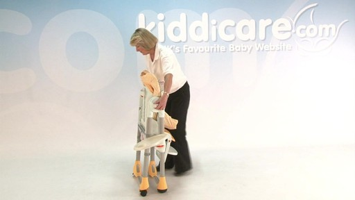 chicco polly highchair - Kiddicare - image 8 from the video