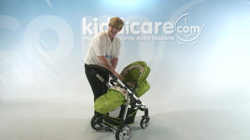 iMAX Pushchair - Kiddicare - image 3 from the video