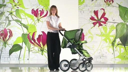 Mutsy 4 Rider Lite College Green Carrycot - image 10 from the video