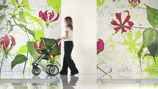 Mutsy 4 Rider Lite College Green Carrycot - image 5 from the video