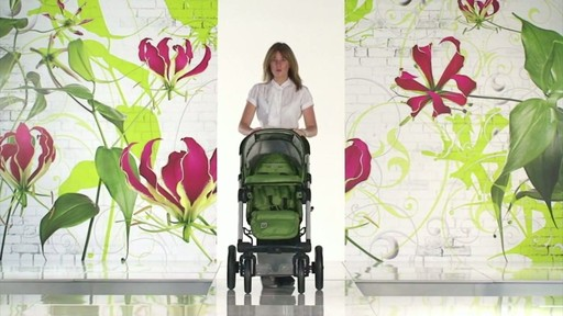 Mutsy 4 Rider Lite College Green Carrycot - image 8 from the video