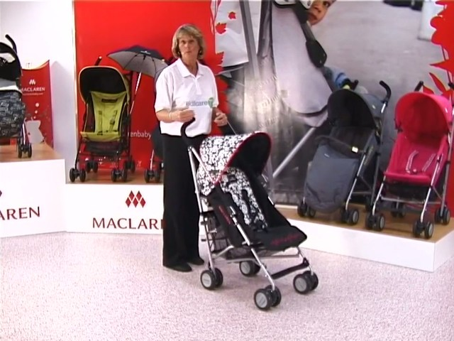 Maclaren Quest Lulu Guinness Pushchair - image 1 from the video