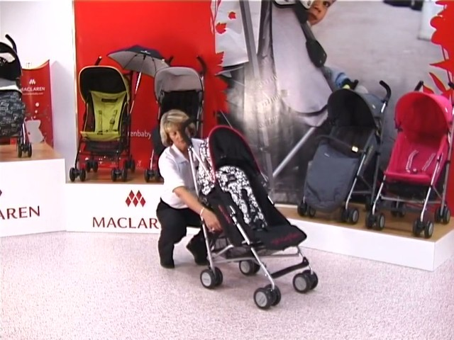 Maclaren Quest Lulu Guinness Pushchair - image 3 from the video