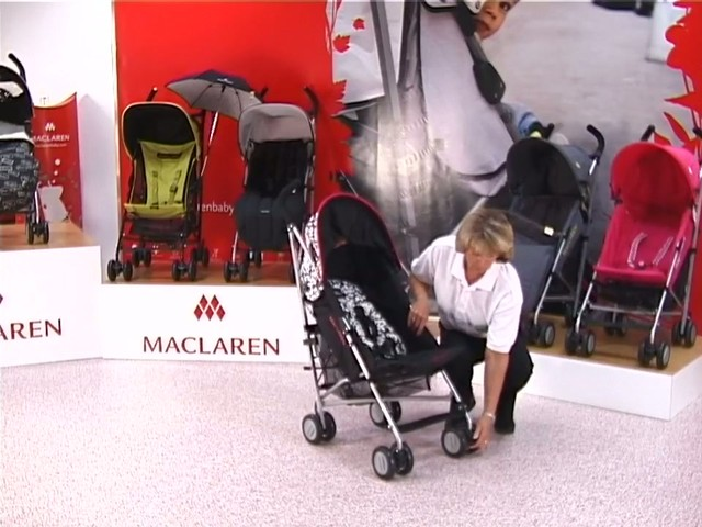 Maclaren Quest Lulu Guinness Pushchair - image 6 from the video
