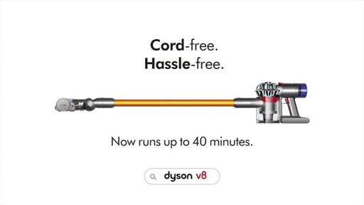 Dyson V8 Absolute Cordless Stick Vacuum 187 Product Demo