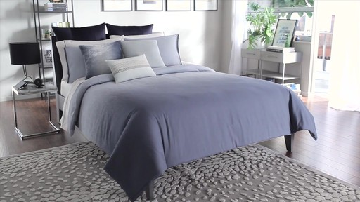 Kenneth Cole Reaction Home Hotel Ink Comforter Pattern