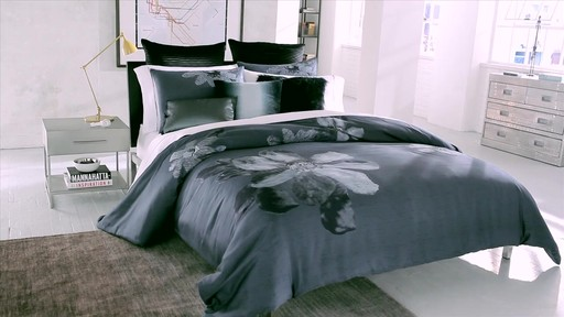 Kenneth Cole Reaction Home Etched Floral Bedding Bed