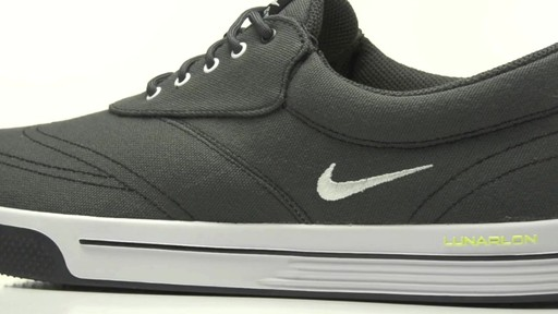 3182d0371b5a ... nike mens lunar swingtip canvas golf shoes image 6 from the video . ...