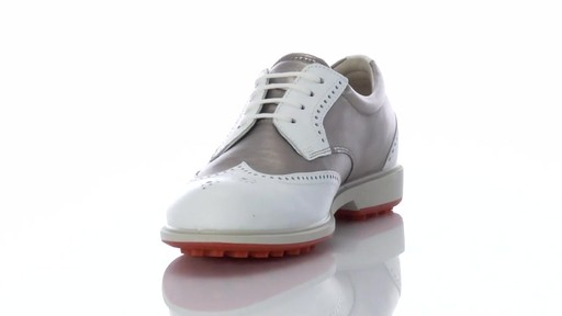 Ecco ladies classic hybrid wingtip hydromax golf shoes for Classic house golf shoes