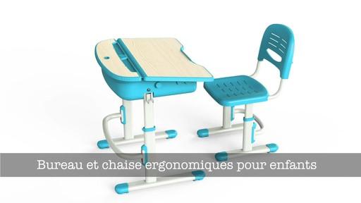 Stevie bureau et chaise ergonomiques study area - Chaise bureau ergonomique ...