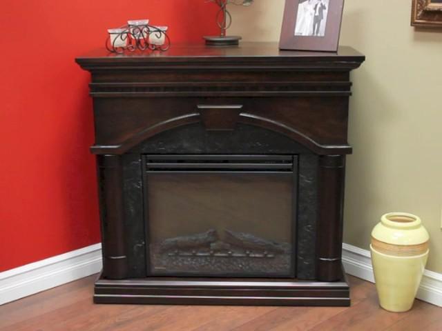 Muskoka Finley 58 4 Cm 23 In Electric Fireplace Mantel