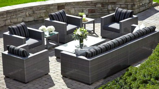 Monaco Patio Furniture Collection Image 5 From The Video