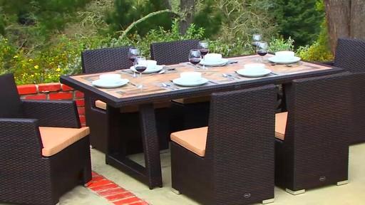 Sirio™ Niko 7 Piece Dining Set   Image 10 From The Video