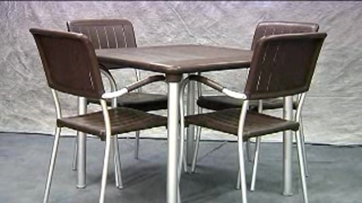 Nardi table carr e maestrale de 88 9 cm 35 po avec - Table carree 120 cm ...
